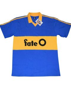Boca Juniors Retro Home Jersey 1986-1989