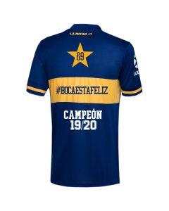 Boca Juniors 2020 Home Jersey #BOCAESTAFELIZ
