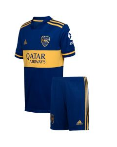 Boca Juniors Home Jersey + Shorts 2020 Kids