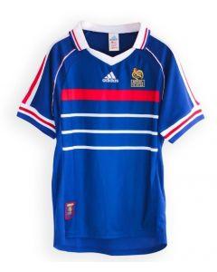 France Home Adidas Retro 1998 Jersey