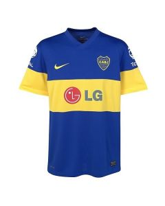 BOCA JUNIORS HOME JERSEY 11-12 PLAYER ISSUE