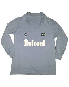 MARADONA NAPOLI 86/87 NR BUITONI LONG SLEEVES NR SHIRT