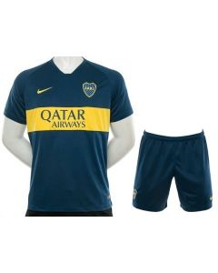 Boca Juniors Home Jersey + Shorts 2019 Kids