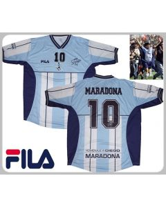 MARADONA TRIBUTE MATCH JERSEY 2001