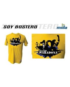 MILLA MARADONA OFFICIAL T-SHIRT - SOY BOSTERO