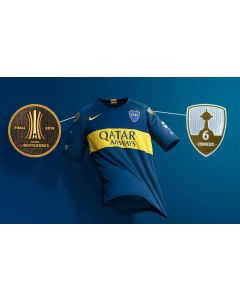 BOCA JUNIORS HOME JERSEY 2019
