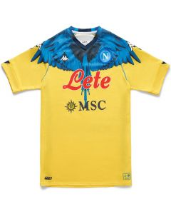 Napoli 2021 Goalkeeper Jersey x Marcelo Burlon