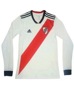 River Plate Jersey 2019 Home Long Sleeves
